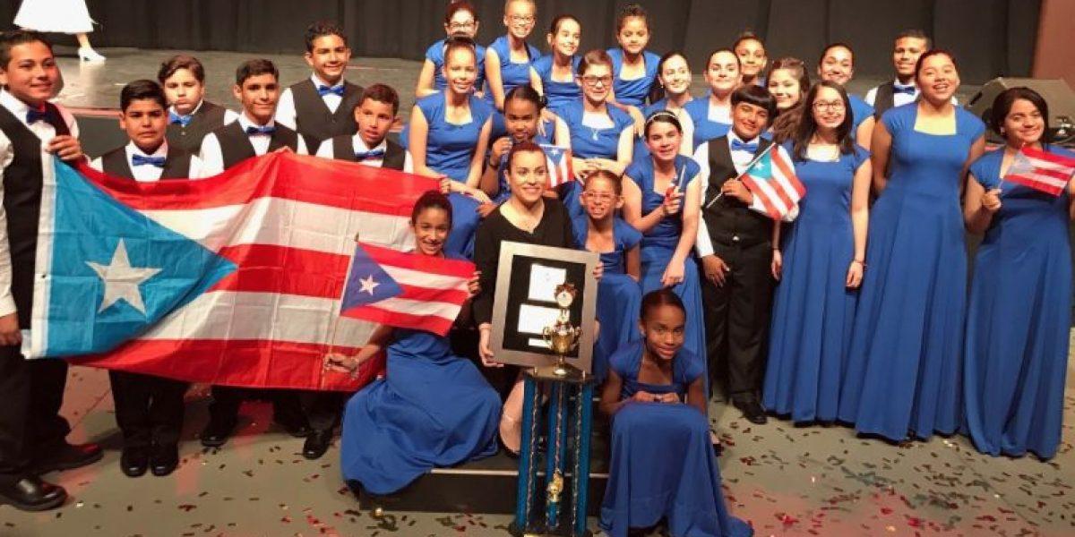 Oro para orquesta de cuerdas boricua en Orlando
