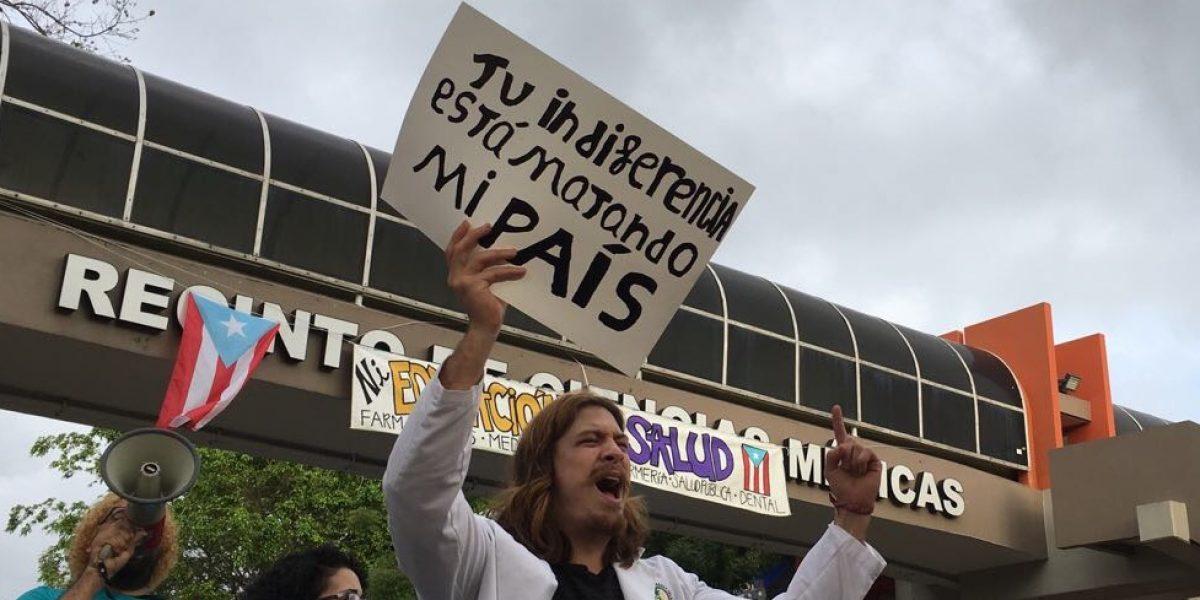 Estudiantes de Ciencias Médicas no se quitan tras paro de 72 horas