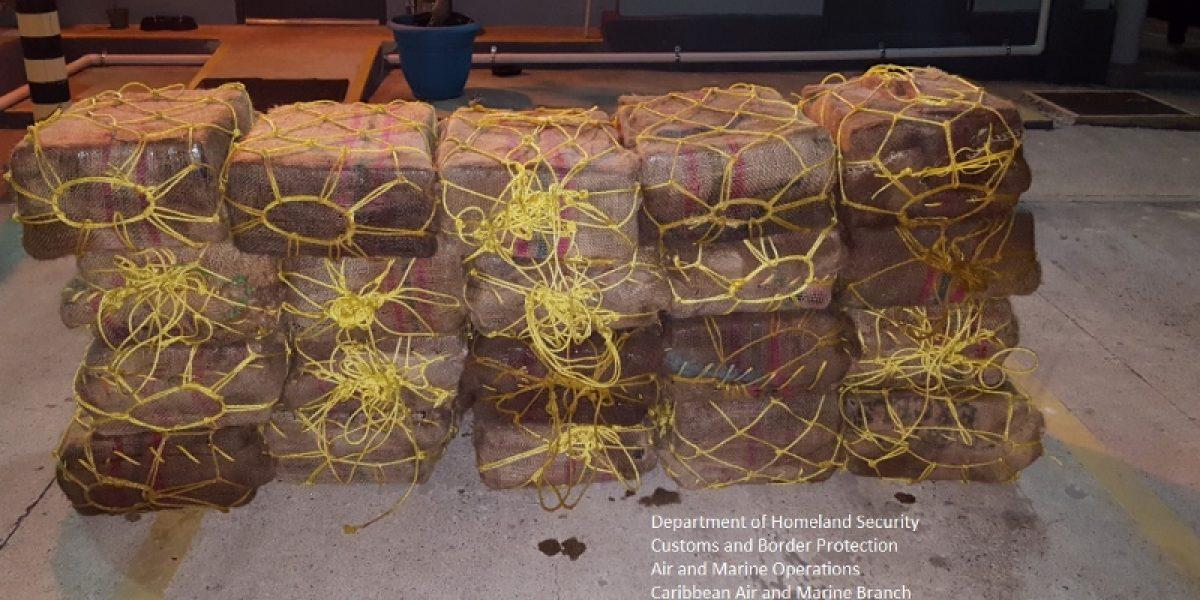 Interceptan embarcación con cocaína valorada en $17 millones