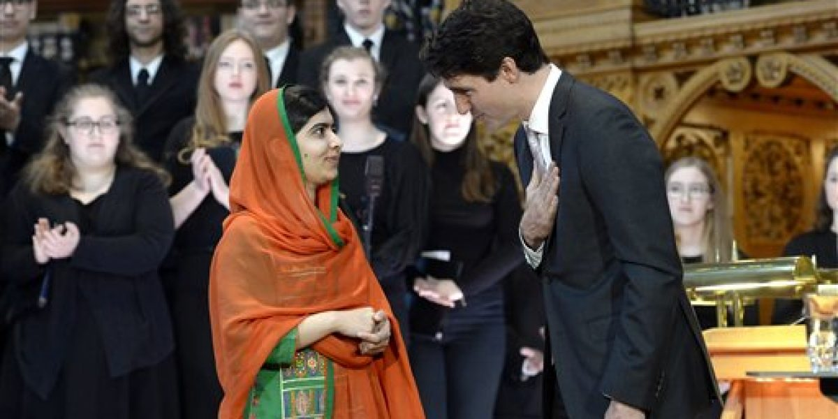 Canadá concede ciudadanía honoraria a Malala Yousafzai