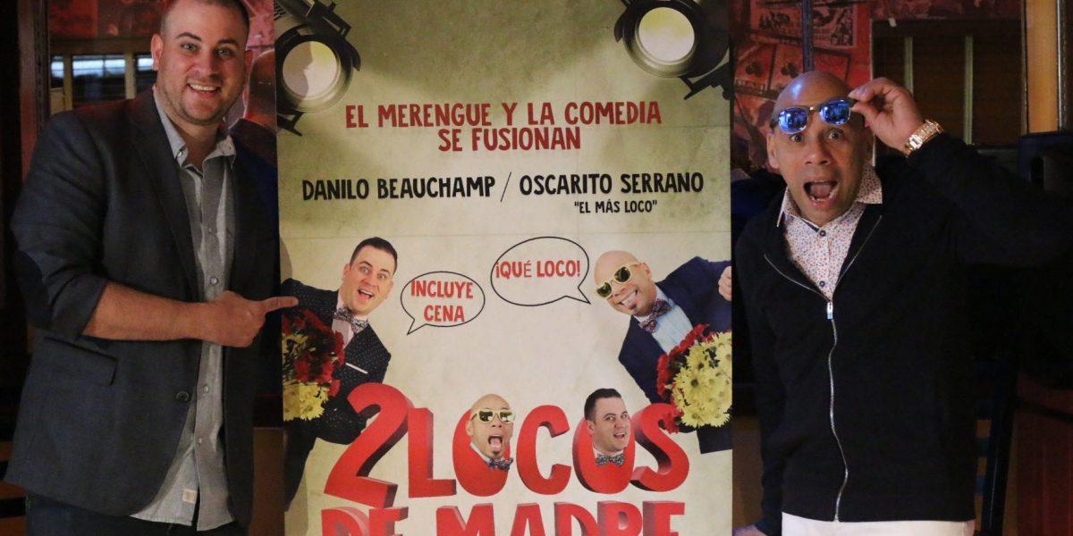 """Cara a cara Danilo Beauchamp y Oscarito en """"2 locos de madre"""""""
