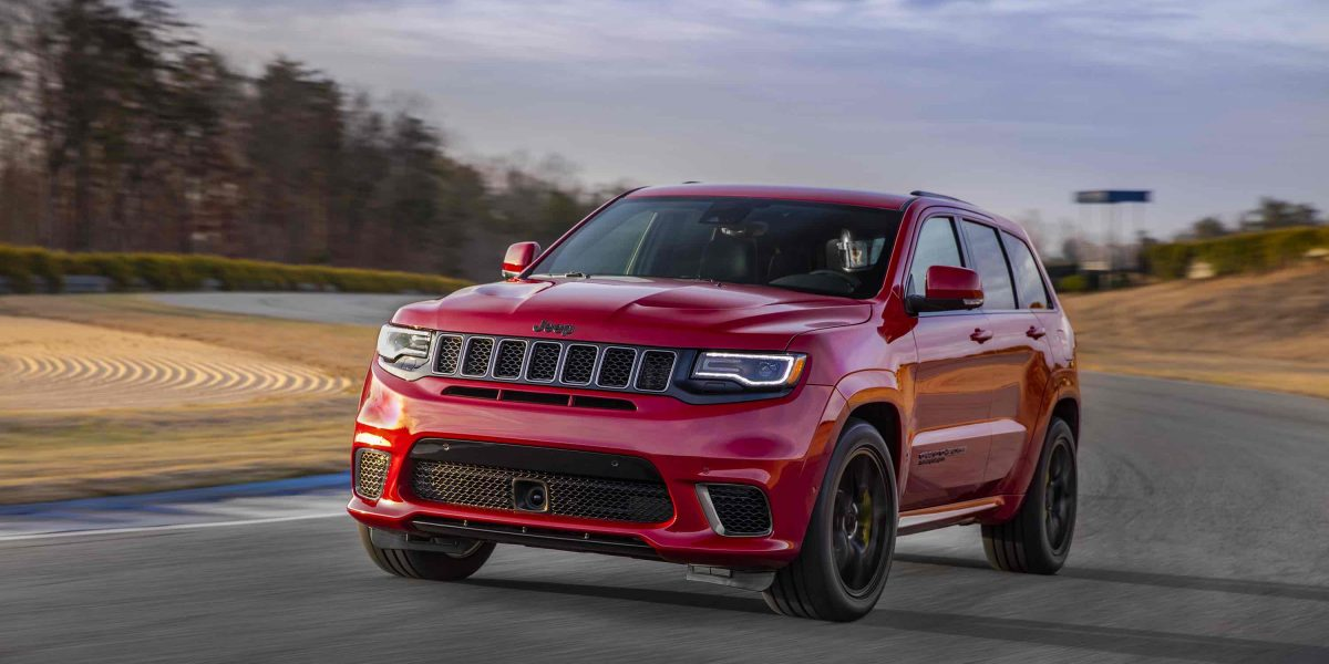 Jeep desvela su Grand Cherokee Trackhawk 2018