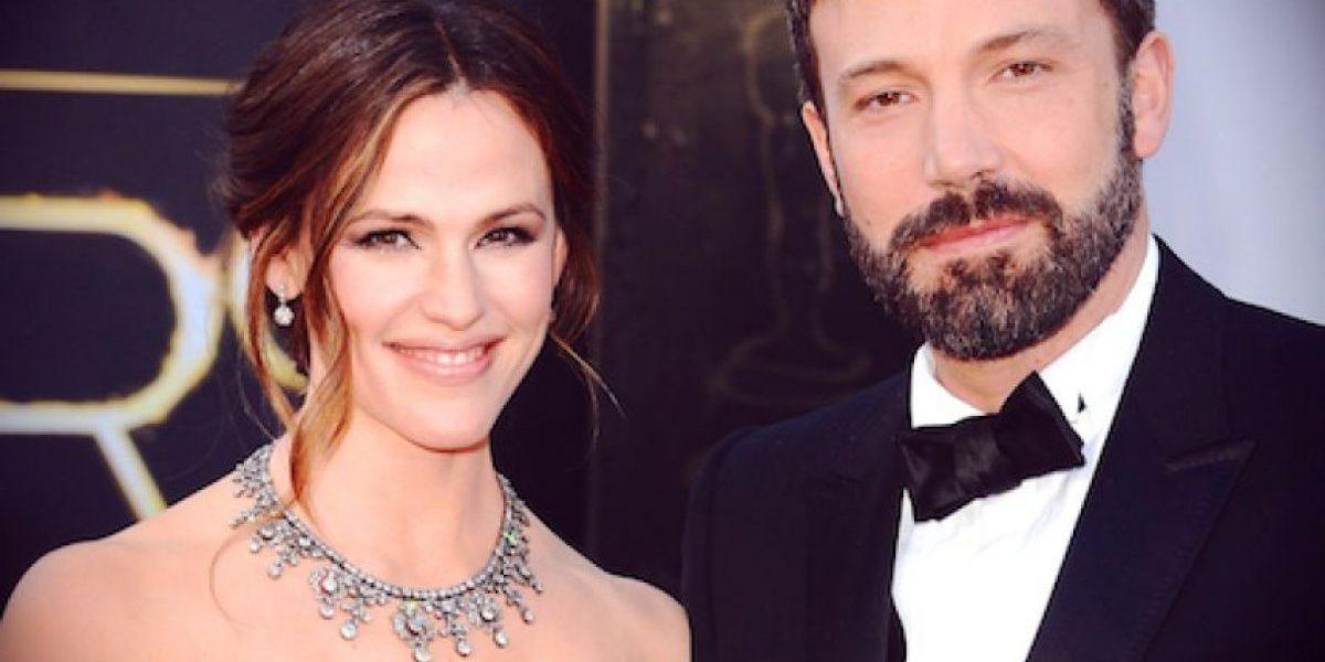 Jennifer Garner y Ben Affleck entregan solicitud de divorcio