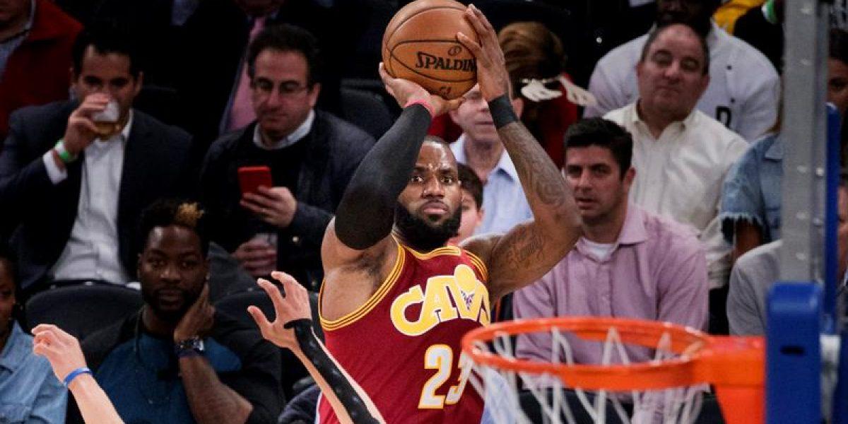 James da la ventaja a los Cavaliers sobre los Pacers