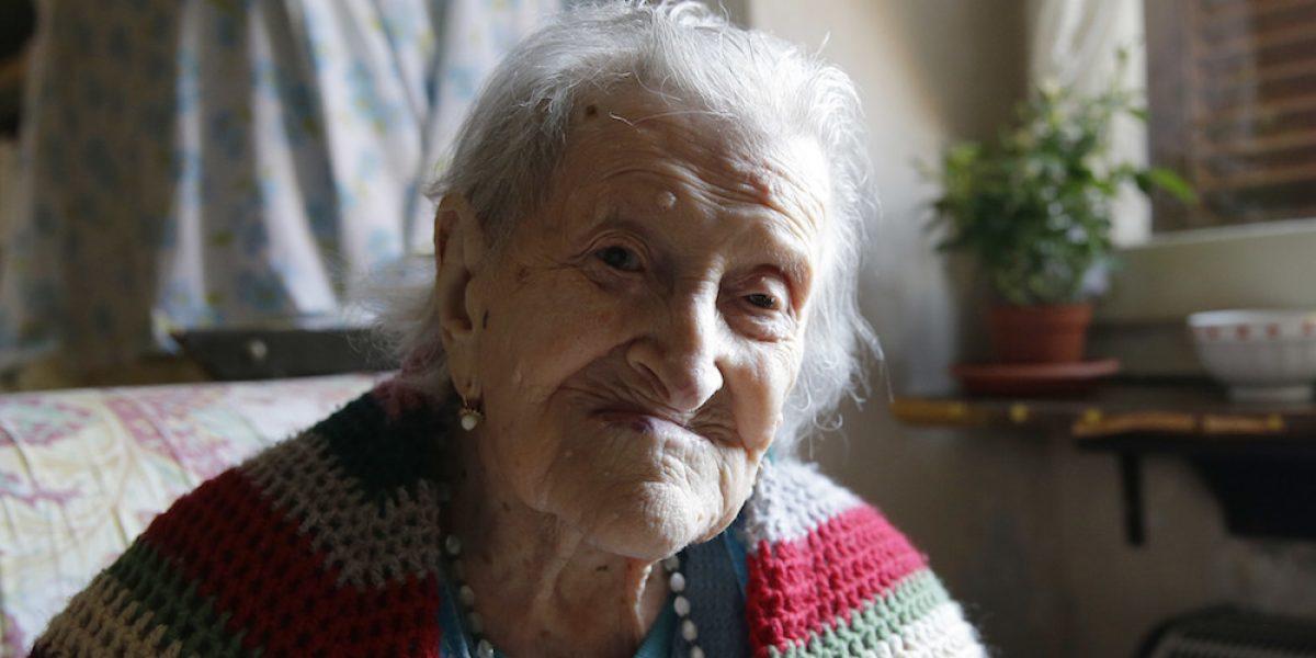 Muere en Italia la persona más anciana