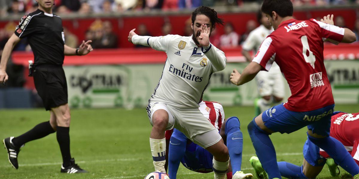 Isco rescata triunfo para el Real Madrid