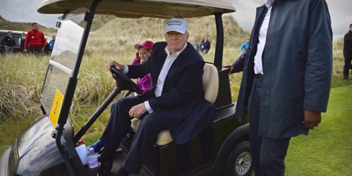 Servicio Secreto ha rentado unos $35,000 en carritos de golf para Trump