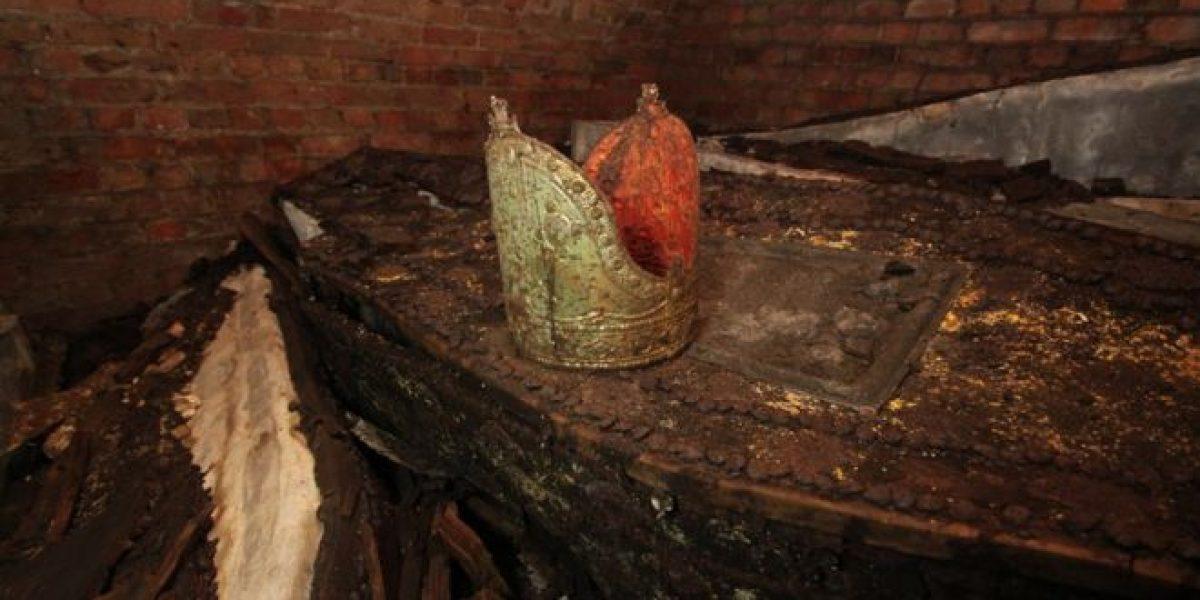 Hallan los restos de cinco arzobispos de Canterbury
