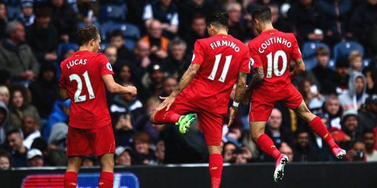 Firmino aporta gol clave y Liverpool se impone por la mínima
