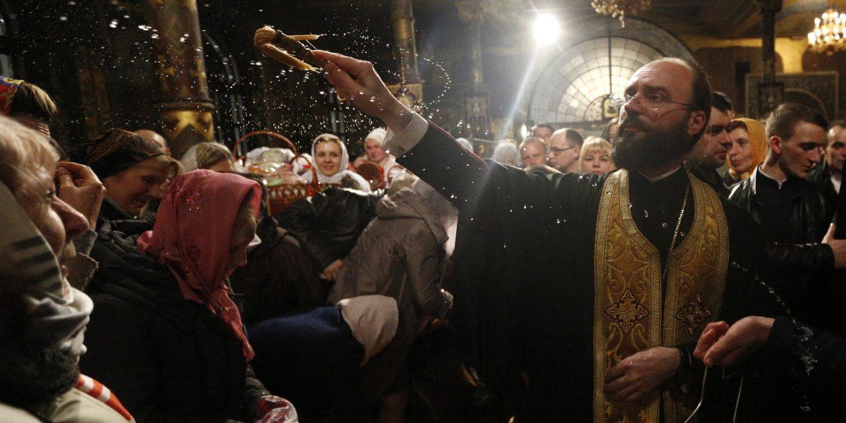 Millones de cristianos ortodoxos celebran la Pascua