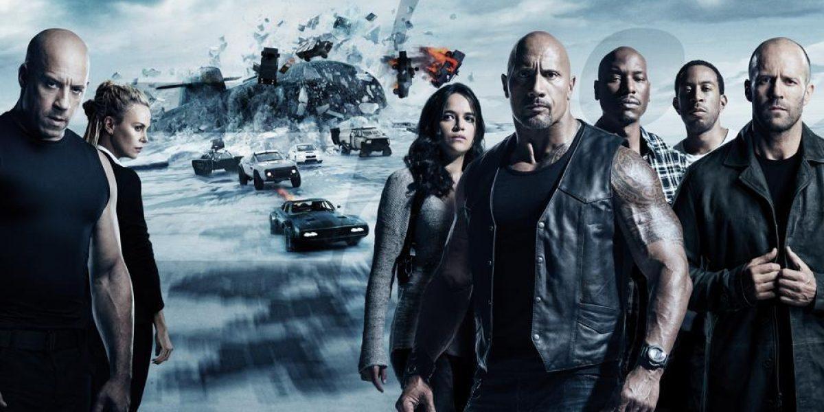 Fast and Furious 8 recauda más de $100 millones en taquilla