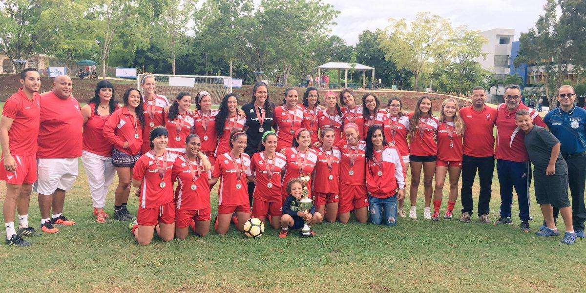 Jerezanas ganan bronce en fútbol femenino