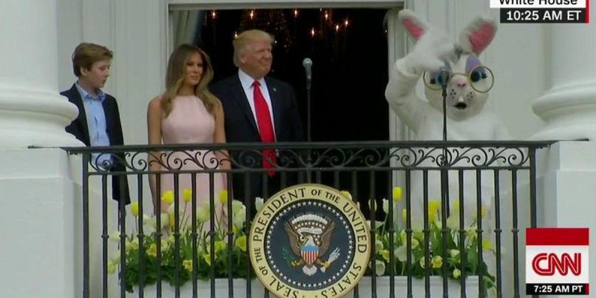 Trump encabeza festival de Pascua en la Casa Blanca