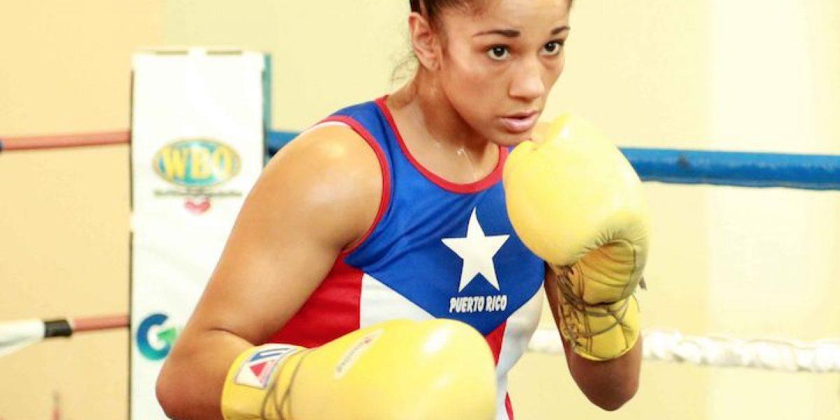 Amanda Serrano a cuatro libras del peso para su próximo combate