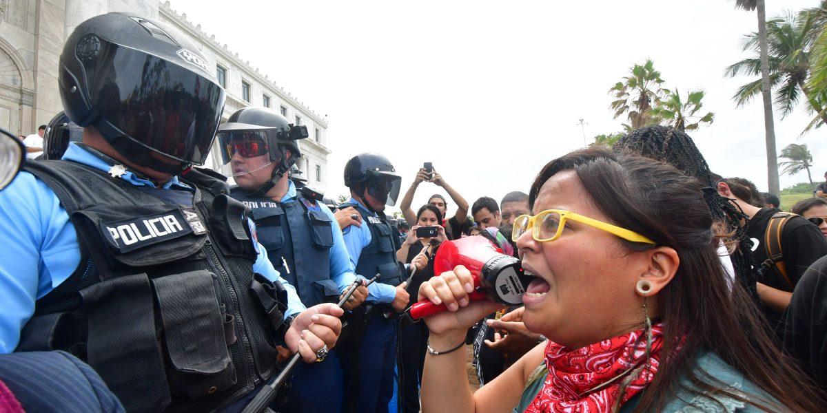Barrera doble para los manifestantes frente al Capitolio