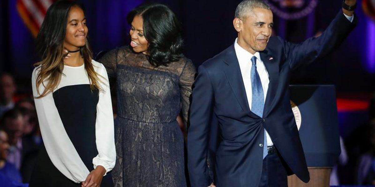 Servicio Secreto interroga a hombre obsesionado con hija de Obama
