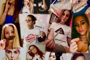 420 / #GanjaGirls: Modelos promocionan cultura del cannabis