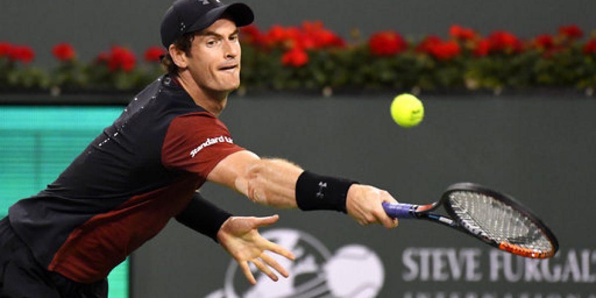 Andy Murray avanza en Montecarlo tras lesión