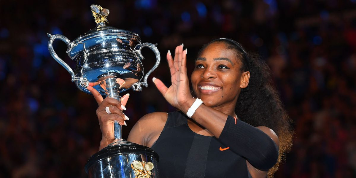 Serena Williams anuncia embarazo por Snapchat
