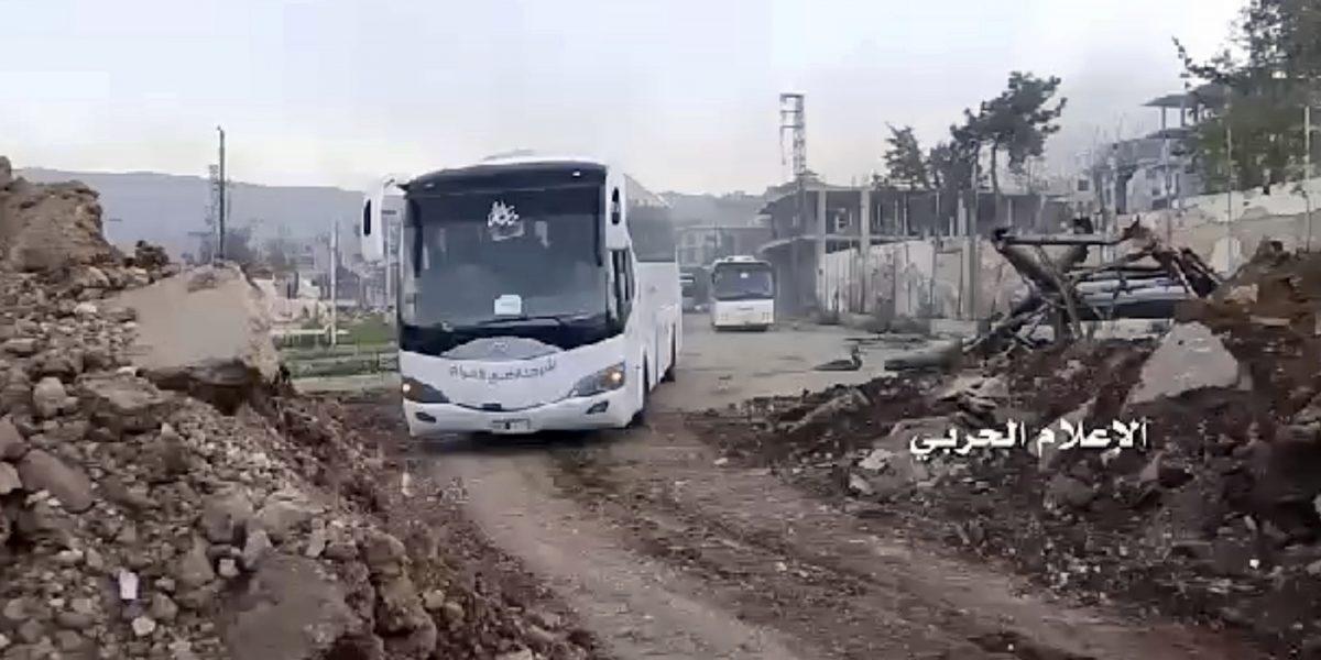 Siria reanuda la evacuación de 4 pueblos tras ataque mortal