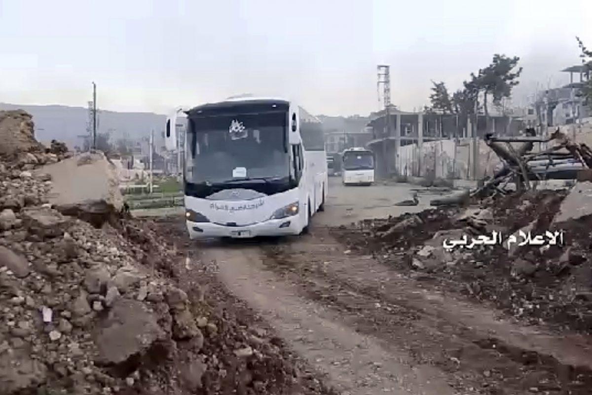Siria reanuda la evacuación de 4 pueblos tras ataque mortal | Metro
