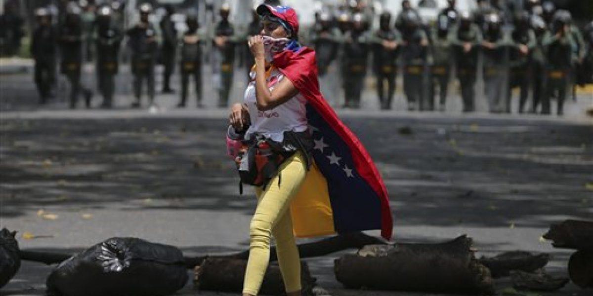 Venezuela arde por conflicto político y social