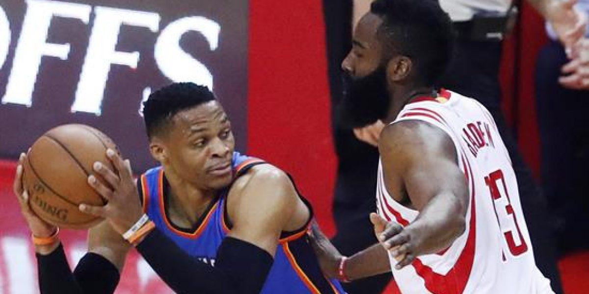 Westbrook hace historia, pero los Rockets le aguaron la fiesta