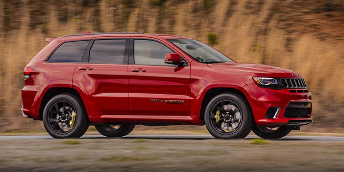 Pura fuerza la Jeep Grand Cherokee Trackhawk 2018