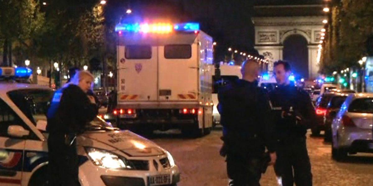 Reportan tiroteo en los Campos Eliseos en París
