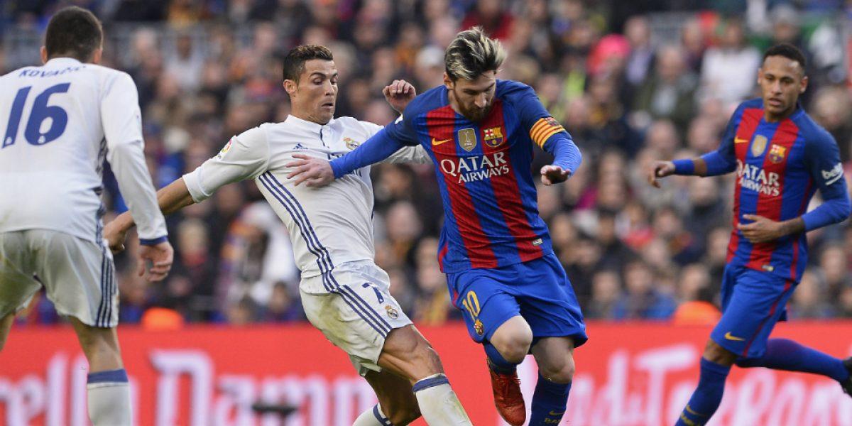 Sin margen de error la visita del Barcelona a Real Madrid