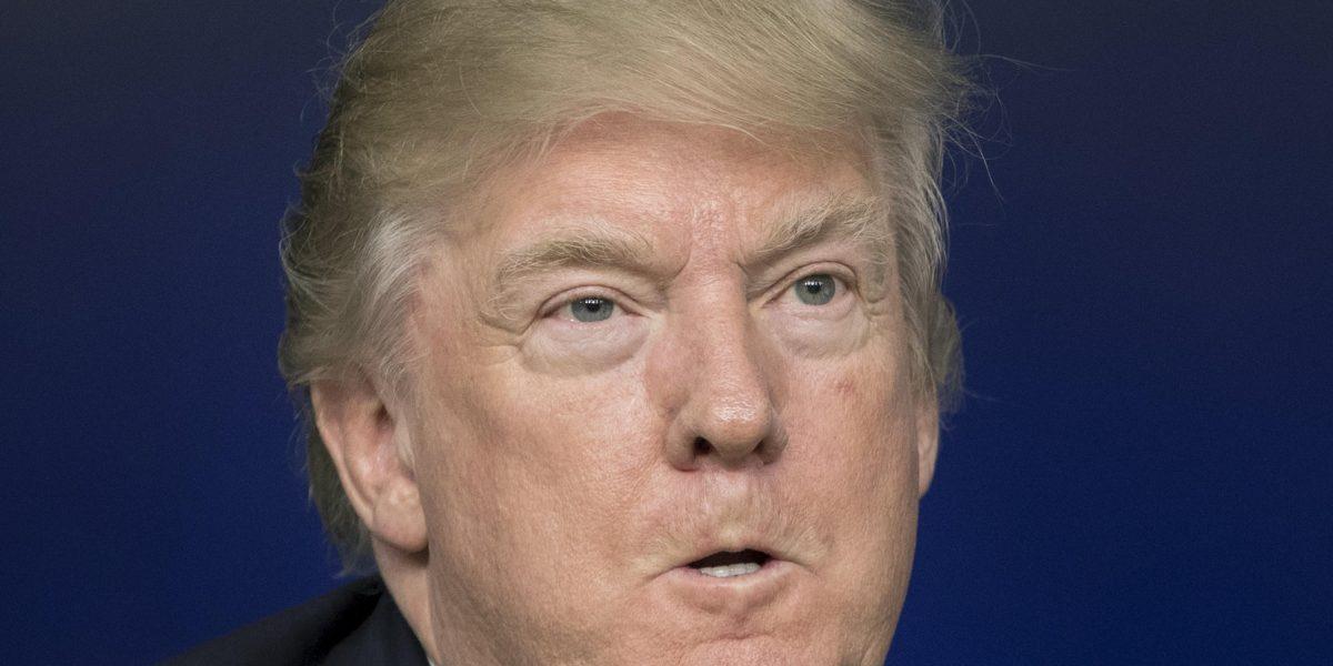 Trump dará mitín el mismo día de la cena de periodistas de la Casa Blanca