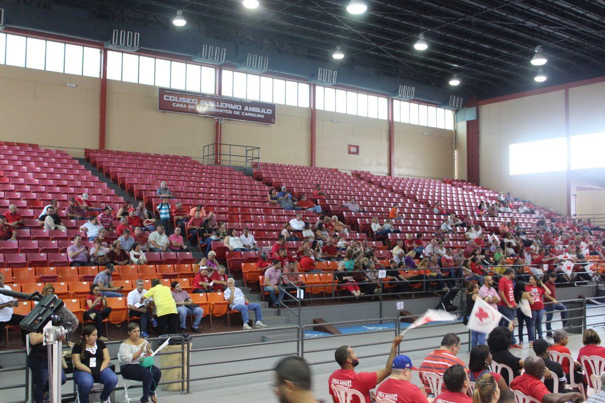 Asamblea General del PPD en el Coliseo Guillermo Angulo en Carolina. / Foto: David Cordero Mercado. Imagen Por: Asamblea General del PPD en el Coliseo Guillermo Angulo en Carolina. / Foto: David Cordero Mercado