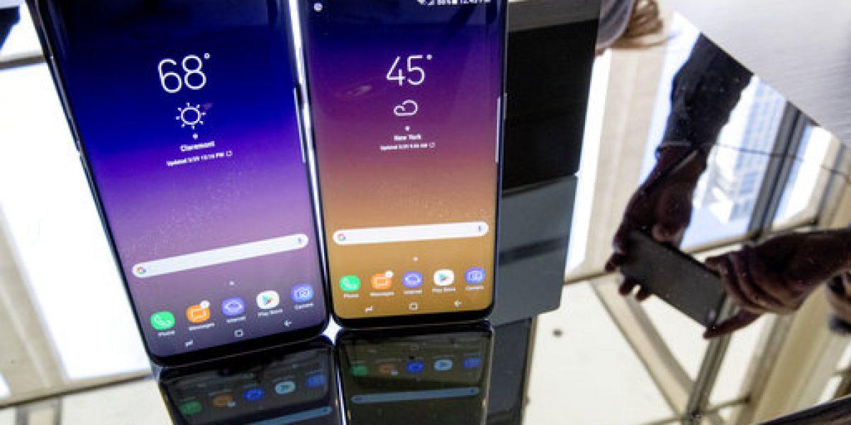 Nuevos celulares de Samsung se rajan más fácilmente