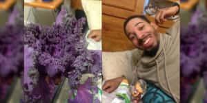 Accidentalmente compró una lechuga para su novia en lugar de flores, y así reaccionó Twitter