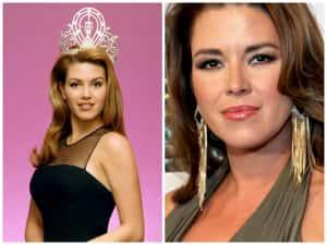 Las reinas de belleza antes y después de la corona