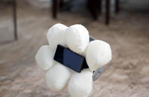 Este es el 1er airbag para celulares