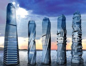 Este es el primer rascacielos giratorio en el mundo