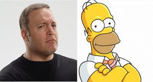 Este sería el elenco de los Simpsons
