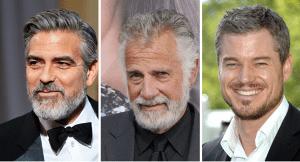 Los mejores looks para hombres con canas