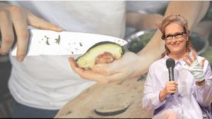 #AvocadoHand: al parecer, cortar un aguacate puede ser algo de vida o muerte