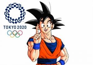 Gokú es nombrado embajador de los juegos olímpicos de Tokyo 2020