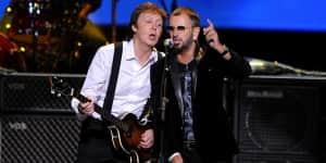 Paul McCartney y Ringo Star se reencuentran otra vez luego de 7 años