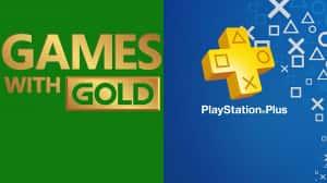 Comparación mensual de PlayStation Plus vs Games With Gold