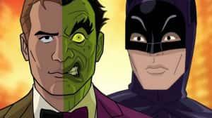 Adam West deja grabada su voz para la cinta animada Batman vs. Two-Face