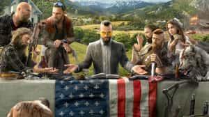 Se revela una nueva pieza de arte con los personajes de Far Cry 5