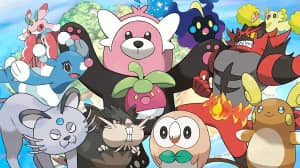 Se descubrieron animaciones de Pokémon que caminan en Sun y Moon