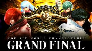 Se enfrentan por la corona del mejor jugador de The King of Fighters XIV