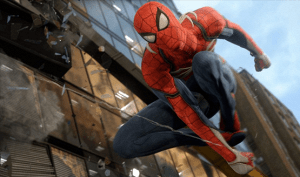 E3 2018: PlayStation decora una pared de Los Angeles con arte de Spider-Man