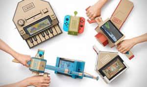 God of War es superado en ventas por Nintendo Labo en Japón