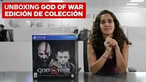 Unboxing God of War: Edición de Colección